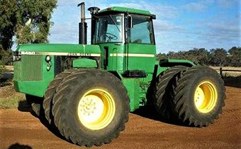 online auction tractor